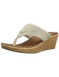 Skechers Women's BEVERLEE - FANCY WORK Sandals