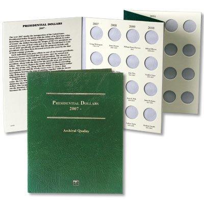 Album 50 Coin - Littleton Coin LCF35 Presidential Small Dollar P&D Album - Case of 50