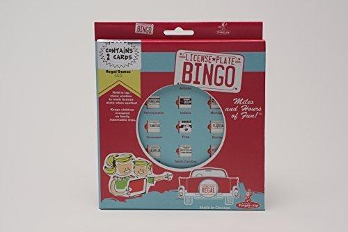 barato Regal Regal Regal Games License Plate Travel Bingo (2 Cards) by Original Toy Company  nuevo sádico