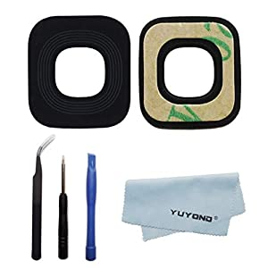 YUYOND New Back Rear Camera Glass Lens Cover Replacement for Samsung Galaxy s7 / s7 Edge s8 / s8 Plus S9 / S9 Plus