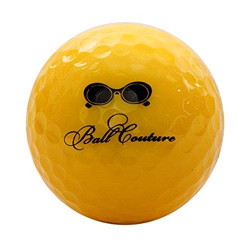 Ball Couture Fashionable Colored Golf Balls for Women Melon - Sunglasses, 1 Dozen