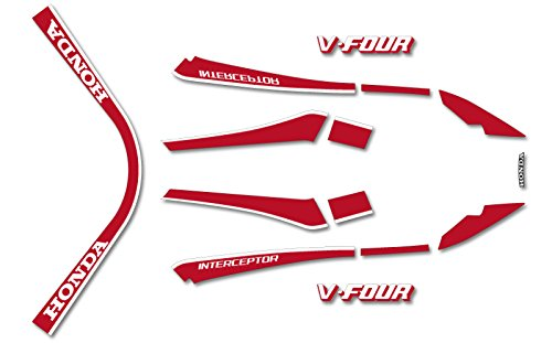 1984 VF1000F Complete Decal (Complete Decal Set)