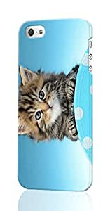 abby On Polka Dot Custom Diy Unique Image Durable 3D Case Iphone 4 4S Hard Case Cover