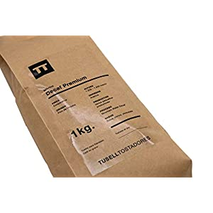 Caffe decaffeinato in grani 1 kg Espresso - Arabica 100 % - Decaf Premium - Tusell Tostadores