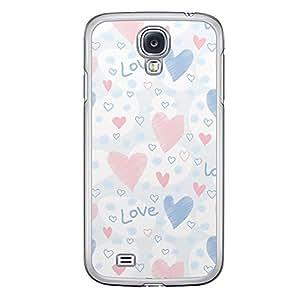 Loud Universe Samsung Galaxy S4 Love Valentine Printing Files A Valentine 167 Printed Transparent Edge Case - Multi Color