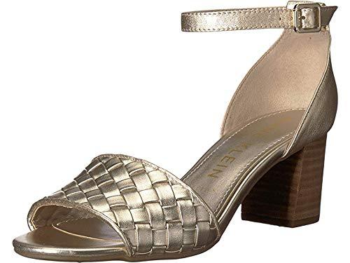 - Anne Klein Women's Carine Heeled Sandal Light Gold 8.5 M US