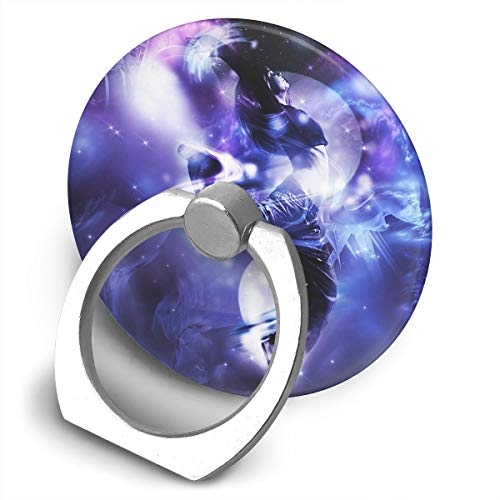 - Round Finger Ring Cell Phone Holder Fantasy Dance Art 360 Degree Rotating Stand Grip Mounts