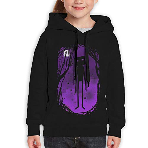 Beverly H. Griffin Teen Girls Boys Youth Fleeces Enderman Black -
