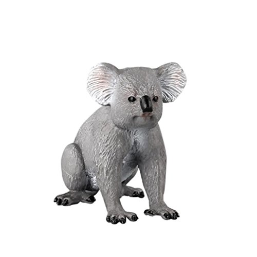 Dartphew Toys,Dartphew 1Pcs Koala Animal Model Toy,Figurine Model Decoration Ornament Educational Toys,for Safe & Fun Role Play for Kids Baby Boys Girls(Lovely) (A)