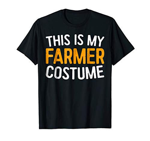 This Is My Farmer Costume T-Shirt Halloween Gift Shirt