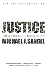 Justice: What's the Right Thing to Do? by Michael J. Sandel(2010-08-17) Unknown Binding