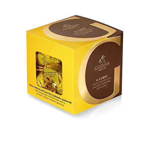 f4a8bc6ad649 Godiva Godiva Chocolatier Milk Chocolate Salted Caramel G Cube Box