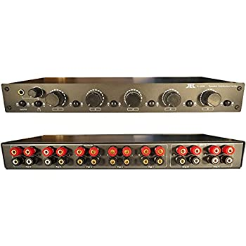 Theater Solutions TS6D Six Zone Dual Input Speaker Selector Box 6 Pair Speaker Switcher