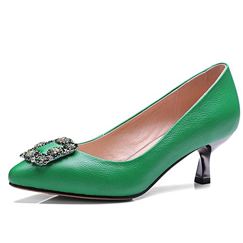 Nine SevenCourt Shoes - Sandalias con cuña mujer Verde