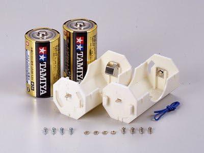 タミヤ 楽しい工作シリーズ TK148// 【 単1電池ボックス (1本用×2)】 組み合わせも可能な電池ボックス2個をセット