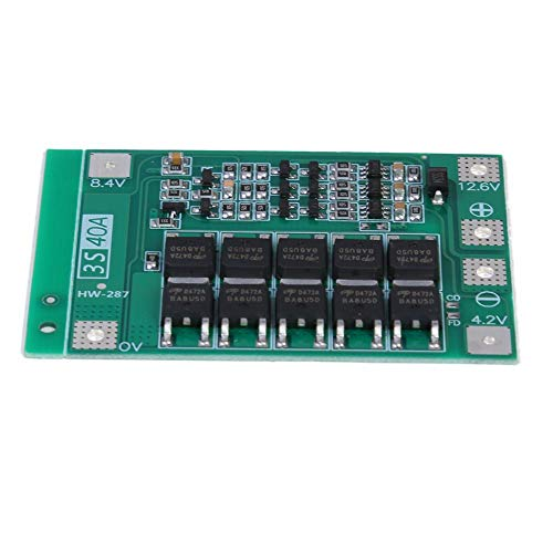 vanpower 12.6V 40A Lithium Battery 18650 Charger PCB BMS Protection Board with Balance