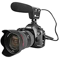 Pixel MC-50 Professional Recording Microphone Video Camera Microphone Shotgun Mic Camcorder Voical Microphone for dslr Canon Nikon Camcorder (Need 3.5mm Interface)