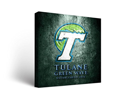 Victory Tailgate Tulane University Green Wave Canvas Wall Ar