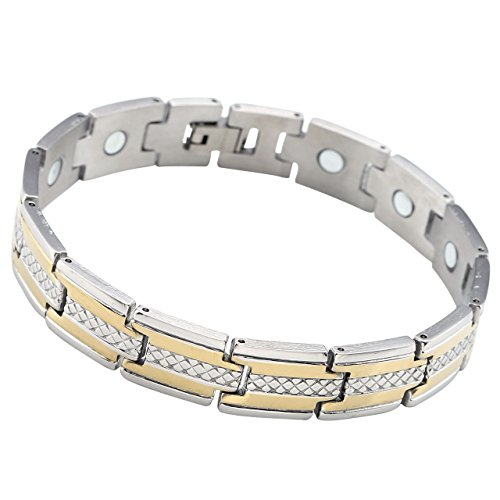JOVIVI Stainless Jewelry Magnetic Bracelet