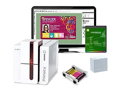 Evolis Primacy Paquete de Impresora de Tarjetas de identificación ...