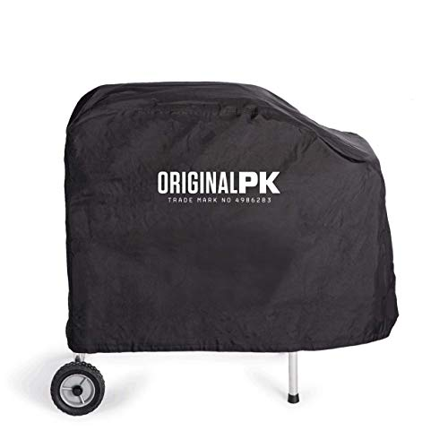 PK Grills PKOA-CSX-BS-X PK Original Lightweight Canvas Grill and Smoker Cover, Fits All PK Original Models, Black