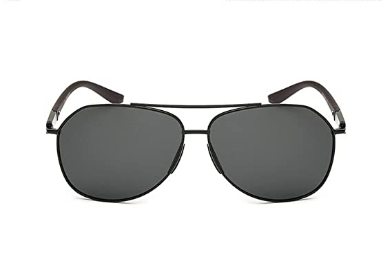 HETAO personnalité Lunettes de soleil Classic Polarized Lunettes de soleil Homme Trend , silver Verres décoratifs