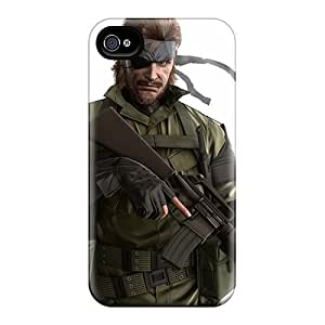 For Iphone 4/4s Fashion Design Metal Gear Solid Snake Eater 3d 10679 Cases-SdB8405KOzu