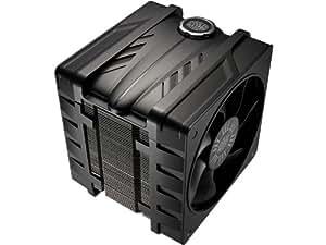 Cooler Master V6GT - Ventilador de PC (0.45 A, 5.4 W, 0.7 A, Negro, 939 g, 131 x 120 x 165 mm)