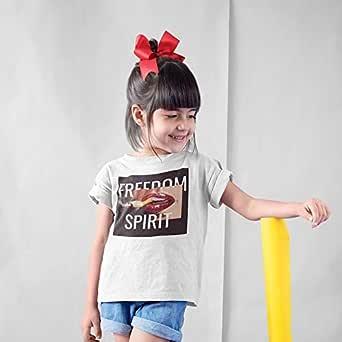 Freedom Spirit ATIQ T-Shirt for Girl, 28 EU