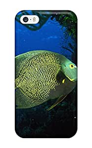 1825073K84350993 High Grade Flexible Tpu Case For Iphone 5/5s - Sea Animals
