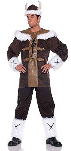 [Men's Viking Warrior Costume] (Barbarian Warrior Costume)