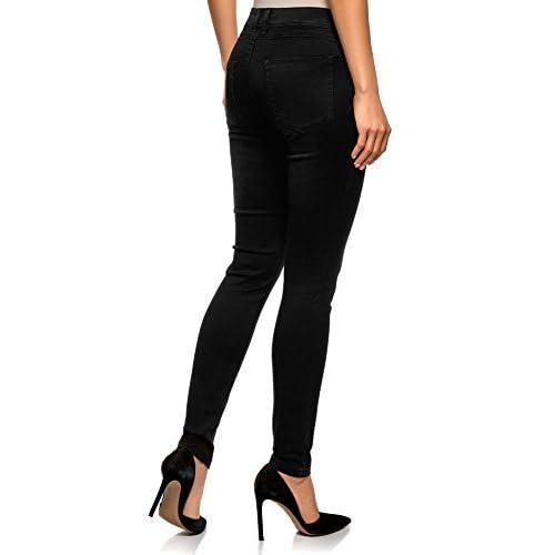 oodji Ultra Women's Skinny Jeans in Soft Fabric