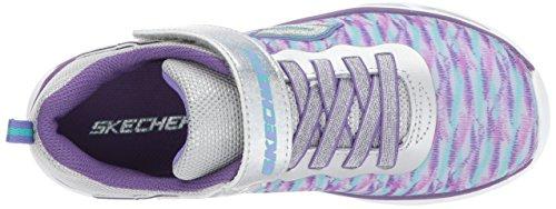 Argenté violet Skechers10667l Fille garçon Litebeams Lumineuses wUSxIqfz
