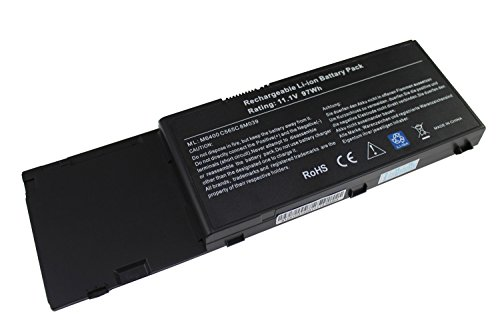 Easy&Fine Dell Battery Replacement M6400 Battery(11.1V 97Wh) M6500 Battery for Dell Precision M6500 8M039 C565C DW554 DW842 F678F G102C J012F