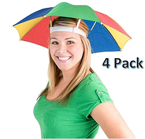 CUZAIL Umbrella Hat for Adults and Kids - 20