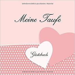 Meine Taufe Gästebuch Erinnerungsalbum Eintragalbum Für
