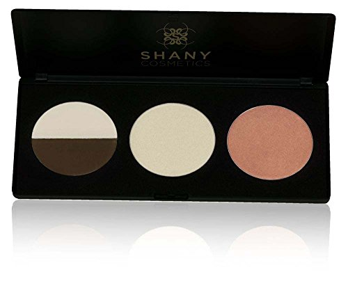 SHANY Cosmetics Rosebud Contour and Blush Palette for Medium