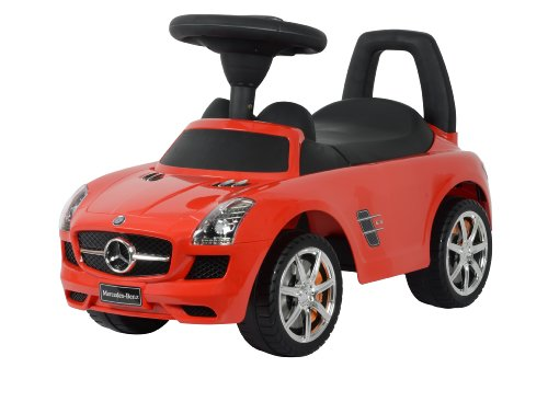 Best Ride On Cars Mercedes Benz Push Car, Red (Best Ride On Toys For 1 Year Old)