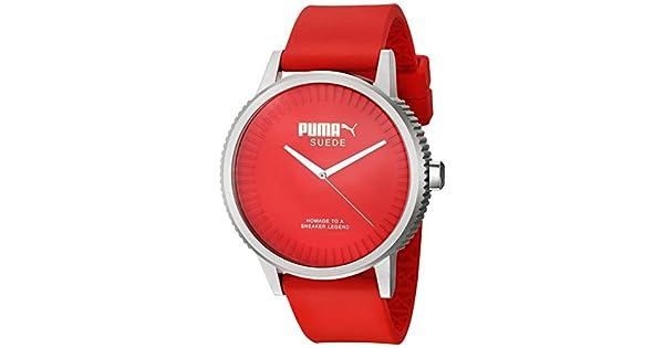 Kit de regalo Puma PU104101004.SET Suede Reloj Análogo para Hombre ... 1bca20f99399