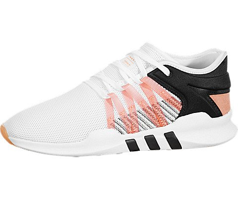 adidas Womens EQT RACING ADV W Cloud White/Chalk Coral/Core Black - CQ2156 (9 B(M) US)