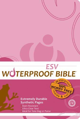 Waterproof Bible - ESV - Pink