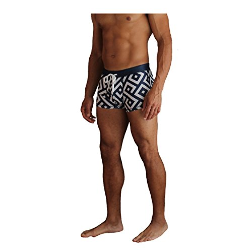 NEW! 20+ Styles - 5TH INDUSTRY Mens Swim Brief Square Leg Swimsuit - Navy Key - - Trunks Swim Men's European