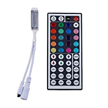 LEDMO Mini 44Key IR Remote Controller for SMD 3528 5050 RGB LED Strip Light