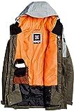 DC Defy Snowboard Jacket Mens Sz L Neutral Grey