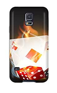New Arrival Case Cover With NXpPiYu530nEXpL Design For Galaxy S5- Poker