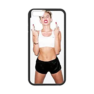 iPhone 6 Plus 5.5 Inch Cell Phone Case Black Miley Cyrus rfwu