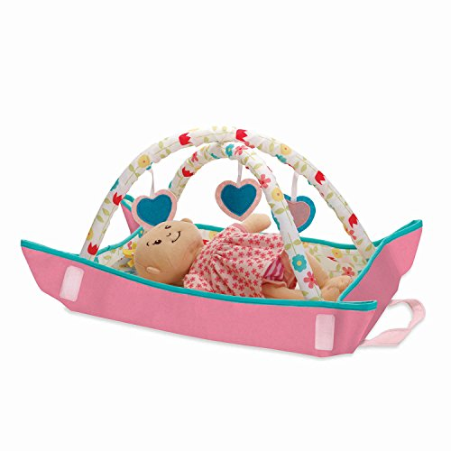 Manhattan Toy Wee Baby Stella Portable Play Gym Soft Baby Doll Accessories Set for 12 Dolls