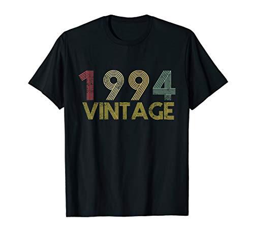 Gifts 25th Birthday - 25th Birthday Gift Vintage 1994 T-Shirt Classic Men Women