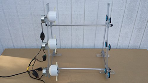 6 rpm 3 rod dryer with on/off switches rod building