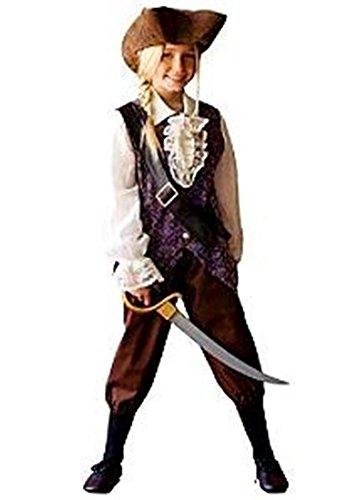 Disney Girls Elizabeth Swann Pirate Dress up Costume XS (4)